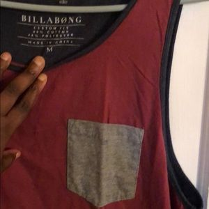 BILLABONG MENS CUSTOM FIT TANK TOP